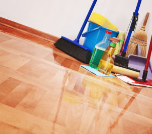 Effiziente Reinigung durch den Cleandevil Service